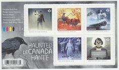 Canada - *NEW* Haunted Canada Souvenir Sheet 2015 - MNH