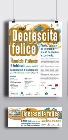Conferenze sul tema della DECRESCITA #alpianodisottographic