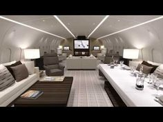 At Concept - Fly Through Tour of the 1st VVIP Boeing BBJ 787-8 Kestrel Aviation Management - YouTube