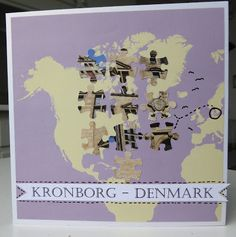 Fasters korthus: Kronborg på landkort