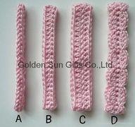crochet flower headband tutorial - Google Search things-i-want-to-make-do