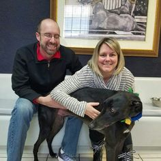 Visa is home forever!  He will be an only dog, for now. Congratulations to Visa & his happy new family!