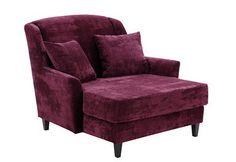 Max Winzer® XXL Sessel »Julia«, IBIZA, mit nussbaumfarbenen Holzfüßen. Gemütlicher Megasessel von Max Winzer®, der auch zum Sitzen zu zweit einlädt. Eine wunderschöne Ergänzung sowohl für ein modernes als auch ein klassisches Ambiente.