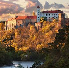 Bítov castle (South Moravia), Czechia #castles #Czechia #architecture #historicalsite