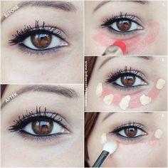 Indian Vanity Case: Red Lipstick Hides Dark Under Eye Circles?!