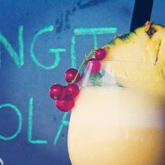 pineapple + cranberry drink Singita, Fregene Italy, Rome