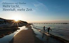 Entspannen auf Usedom - Mehr Licht, Meerluft, mehr Zeit.