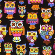 Timeless Treasures fabric by Alice Kennedy from the USA with pretty owls