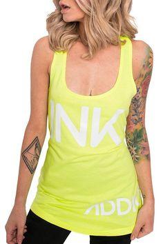 INK Women's Neon Yellow Tank