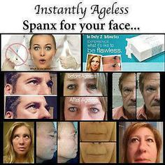 http://www.thehorns.jeunesseglobal.com  This product takes wrinkles away in less than 2 min.  If you would like a sample or to join my team email me at reneehorn09@hotmail.com or comment below!