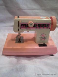 Maquina de coser de juguete años 80