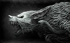 Good Fenrir Wolf Tattoo Photos