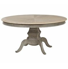 Reve French Country Reclaimed Elm Wood Dining Table