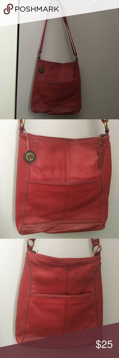 THE SAK Red Cross body purse Red cross body in great condition. Smoke free. The Sak Bags Crossbody Bags