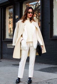 Style Tip: How to Wear White for Fall | Visual Therapy