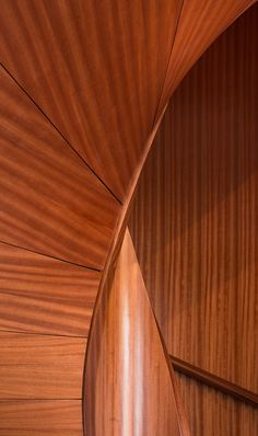 Curved Wood, Stairs, Home, Stairway, Ad Home, Staircases, Homes, Ladders, Haus