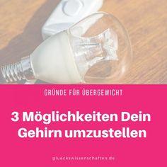 3 Möglichkeiten Dein Gehirn umzustellen - Gründe für Übergewicht Stress Management, Ich Bin Dick, Cortisol, Health Fitness, Soap, Personal Care, Bottle, Blog, Dealing With Stress