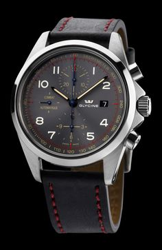 GLYCINE COMBAT Chronographe Automatique Ref. 3924.106AT.LB96B (TB2 NATO Strap) - Swiss made watches - SwissTime
