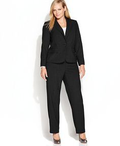 Calvin Klein Plus Size Suit Separates Collection - Wear to Work - Women - Macy's