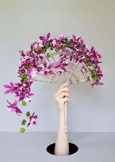 Deco Floral, Arte Floral, Bride Bouquets, Bridesmaid Bouquet, Flower Decorations, Wedding Decorations, Modern Floral Arrangements, Crystal Bouquet, Fleur Design