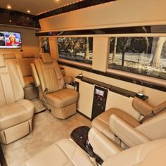 Brilliant Van Mercedes Benz Sprinter Interior I Want This So Bad Even With One Row Removed For Daisys Wheelchair It Would Still Seat Wow