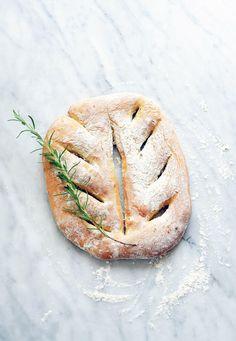 Fougasse aux herbes de Provence  Recipes for Cook Processor Kitchenaid #CookProcessor
