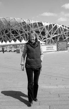 Speaker Sophie Neville in Beijing