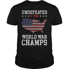 World War Champs Tshirt - Hityourstyle Usa Travel, Usa Shirt, Catalog Online, T Shirt World, T Shirts For Women, Clothes For Women, Direct To Garment Printer, Champs, World War