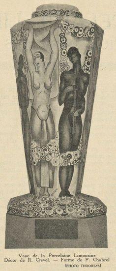 Art Deco Limoges Porcelain : Limoges porcelain at the 1925 Paris Exhibition of Decorative Arts - Exposition Arts décoratifs Paris 1925