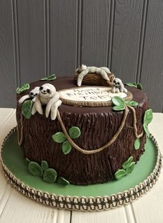 Sloth Cake. Eat My Cake London