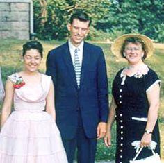 William y Angela Samuelson con Etta Huth