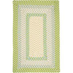 Beachcrest Home Berkley Lime Twist Kids Indoor/Outdoor Area Rug Rug Size: 7' x 9'