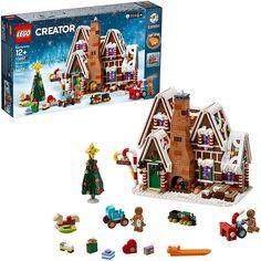 Lego Creator Sets, The Creator, Best Gingerbread House Kit, Cool Gingerbread Houses, Gingerbread Village, Lego Duplo, Legos, Lego Christmas Village, Lego Christmas Sets