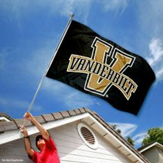 Vanderbilt Commodores VU Black University Large College Flag by College Flags and Banners Co.. $29.95. Made of Polyester with Quadruple-Stitched Flyends for Durability. 3'x5' in Size with two Metal Grommets for attaching to your Flagpole. College Logos viewable on Both Sides (Opposite side is a reverse image). Officially Licensed and Approved by Vanderbilt University. Perfect for your Home Flagpole, Tailgating, or Wall Decoration. Our Vanderbilt Commodores Flag measures 3x5 fe...