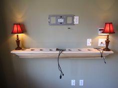 Installing | Hidden Wire Mantels