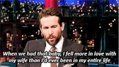 When Ryan Reynolds said this about Blake Lively.