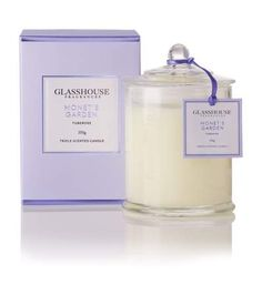 GlassHouse Monet's Garden Candle