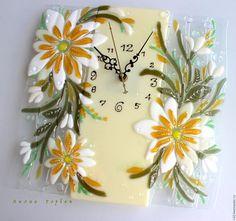 Часы для дома ручной работы. Ярмарка Мастеров - ручная работа. Купить часы из…