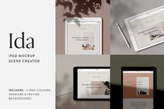 Neat Product Mockups Ida - iPad Mockup Scene Creator—Showcase website designs in a beautiful and authentic setting with Ida, a minimalist inspired iPad m. Ipad Pro Apple, Scene Creator, The Creator, Apple Pencil, Entrepreneur, Monthly Photos, Texture Images, Creative Photos, Creative Things