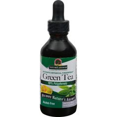 Natures Answer Alcohol Free Super Green Tea with Lemon - 2 oz - Alcohol-Free Fluid Extract Lemon Flavor Herbal Supplement Holistically Balanced Unconditionally Guaranteed Natures Answer alcohol-free extracts are produced using alcohol, water and natural extractants. All alcohol and extractants are then removed through our cold Bio-Chelated proprietary extraction process, yielding a Holistically Balanced standardized extract. Liquid extracts are absorbed faster than tablets or capsules, and…