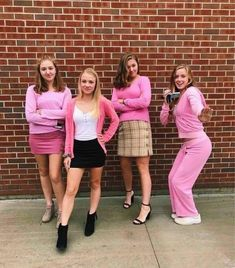 bff halloween costumes Group Halloween Costumes That You Must Know Great Halloween Costumes Couples Halloween, Best Group Halloween Costumes, Halloween Outfits, Halloween Halloween, Family Costumes, Girl Group Costumes, Halloween Makeup, Halloween Recipe, Women Halloween