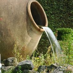 Water Features, Pondless waterfall