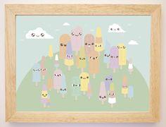 Qué lindo día tenemos hoy. No se ustedes, pero nosotros nos vamos a dar una vuelta por el Bosque de Helados!!! 29 cm x 22 cm ( ~ w ~ ) [ • u • ] \| > 0 < |/ Si te gusta y queres uno igual pasa por nuestra Tienda Online: www.pomito.com.ar !!!!! (ノ>ヮ<)ノ :。・:*:・゚'★,。・:*:♪・゚'☆ ┌( ≧∇≦)┛ ⊂( ⊂ .ω. )っ  #babyshower #cute #love #diseñoargentino #ilustracion #kidsdeco #kawaii #kidsandbabyshop #deco #babyshower #kidsdesign #diseñoargentino  www.facebook.com/pomitopomito   Instagram : @pomitopomito