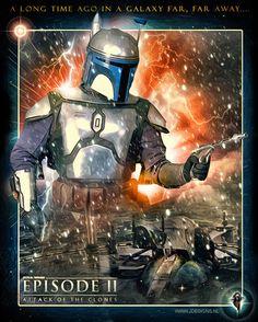 Star Wars : Jango Fett by jdesigns79.deviantart.com on @DeviantArt