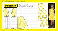 ModelistA: DECOTE CANOA