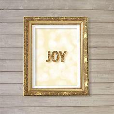 Joy Hope Love  8x10  Instant Download Digital by FebruaryLane, $4.95