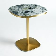 image Mesa de bistrot em mármore Ø60 cm, Lixfeld AM.PM.