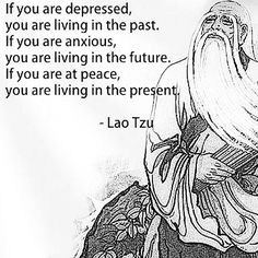 Be in the present
