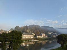 Matin d automne a Bogny-sur-Meuse. © Danielle Drouin Degrolard #Ardennes #France