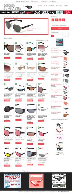 The ultimate Amazon affiliate store!!!! Become a REAL e-tailer with our ULTIMATE e-store! A NEW WAY to build a REAL STORE, any niche possible, great biz opp and TOP profit potential! Sunglasses could be just the start of a profitable e-stores empire! Sell multiple products at once with your own ON-SITE SHOPPING CART! mpress your visitors with PRODUCT VARIATIONS just like the big e-tailers!